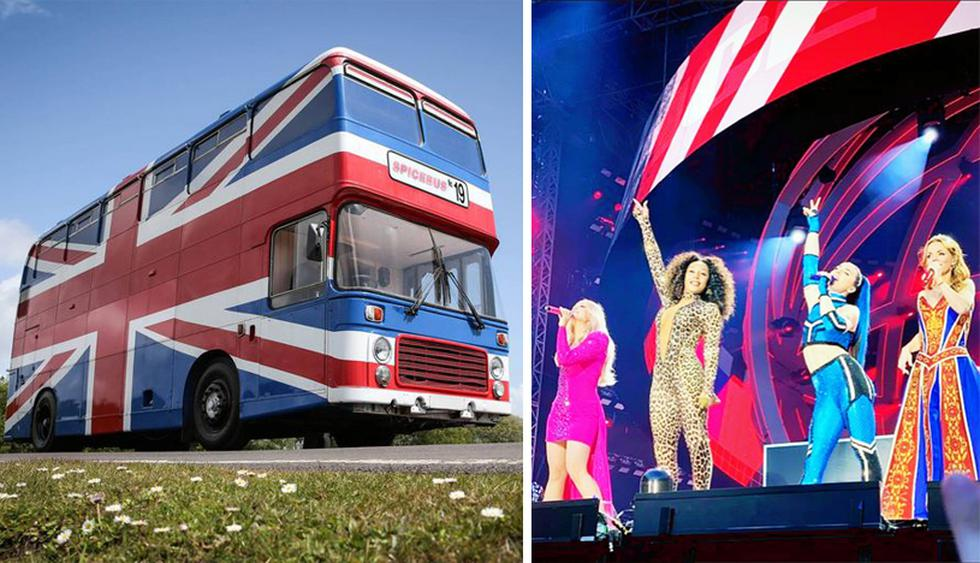 El famoso Spice Bus está disponible para ser alquilado en la plataforma Airbnb. El sueño de todo fan de la banda inglesa de música pop. (Foto: Airbnb)