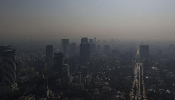 Mueren 14 mil por males relacionados a contaminación ambiental en México. Foto: AFP