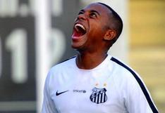 Santos y Robinho acordaron suspender el contrato hasta que el jugador resuelva sus problemas en Italia