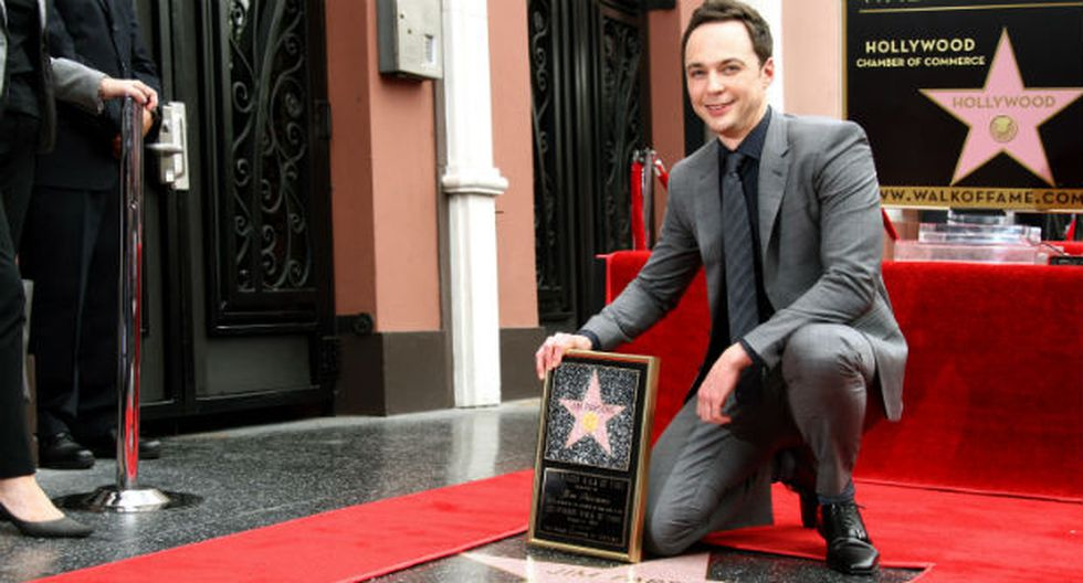 """The Big Bang Theory"": Jim Parsons recibe estrella en Hollywood"