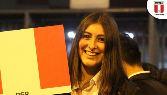 Aleska Burga participó en los Juegos Panamericanos Lima 2019. La imagen corresponde a la inauguración del evento.