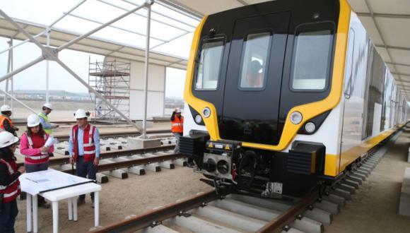 El proyecto Tren de cercanías, que unirá Barranca con Ica, pasando por Lima,  tendrá una conexión de 450 kilómetros  (Foto: Andina)