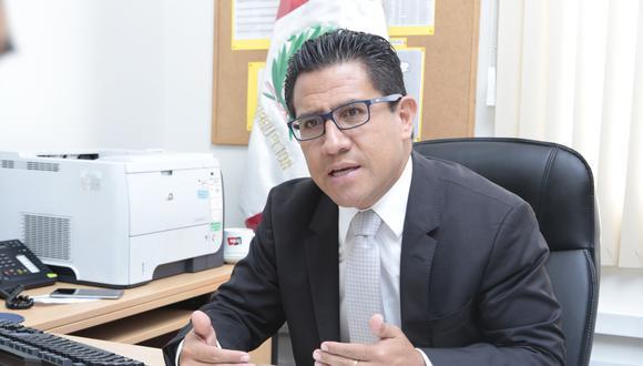 Procurador anticorrupción Amado Enco advirtió que en otros casos, los pagos apresurados como el de Hospital de Moquegua se hacen por acuerdos previos ilícitos. (Foto: GEC)
