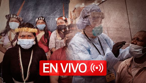 Coronavirus | EN VIVO | Último minuto, número de muertos y casos confirmados de Covid-19 en Estados Unidos, Brasil, Reino Unido, España, Italia y el resto del mundo, hoy jueves 04 de Junio de 2020. (Foto: Diseño El Comercio)