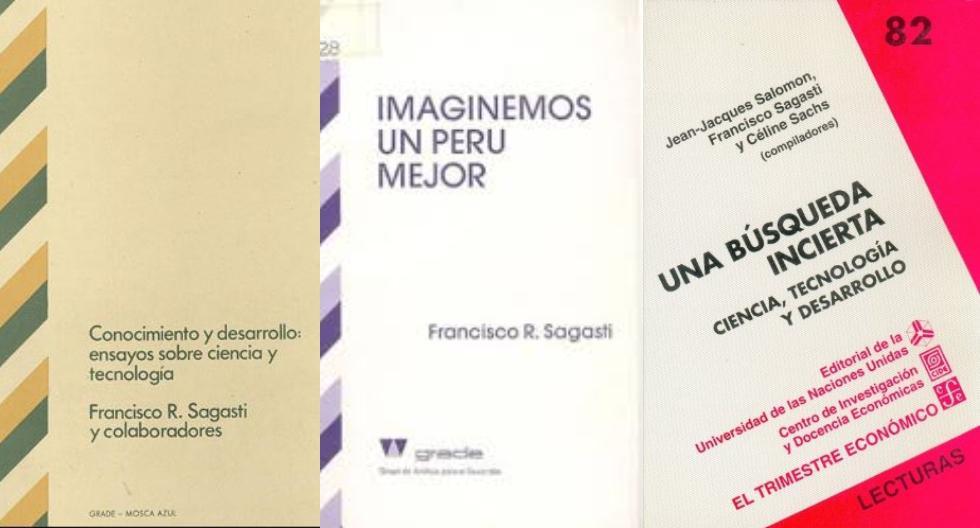 Diez libros de Francisco Sagasti