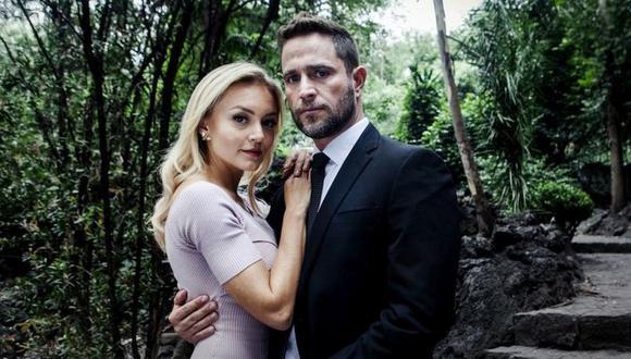 """""""Amar a muerte"""" cuenta la historia de amor entre Lucía Borges y León Carvajal, un exitoso empresario que muere en plena boda y se reencarna en el cuerpo de un asesino (Foto: Televisa)"""