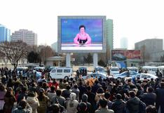 Así festejó Corea del Norte la prueba nuclear de la bomba H