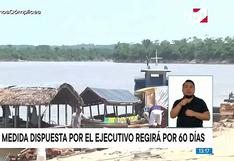 Loreto: cinco distritos en estado de emergencia por contaminación del río Nanay