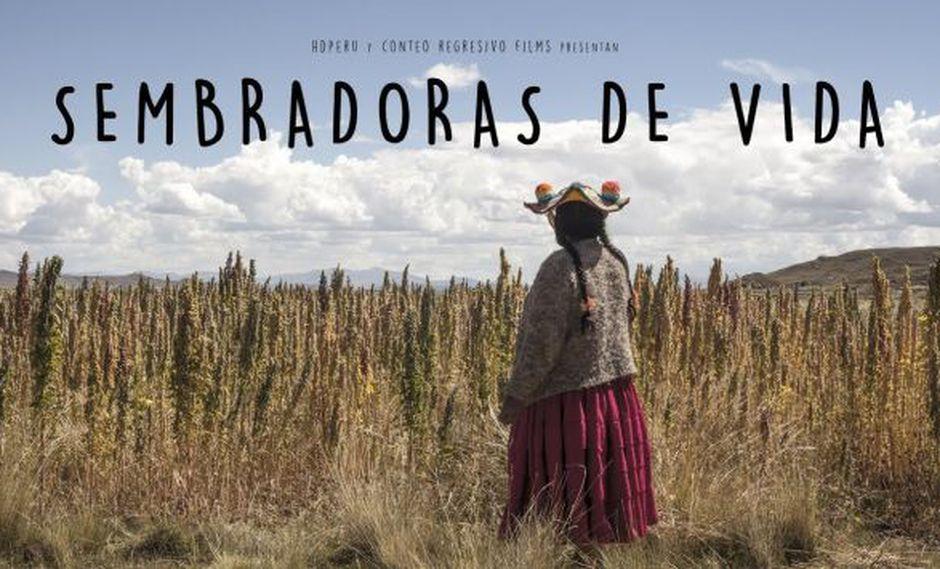 """""""Sembradoras de vida"""", el documental de los cineastas peruanosÁlvaro y Diego Sarmiento, se estrenará en el Festival de Cine de Berlín. (Foto: Conteo Regresivo Films)"""