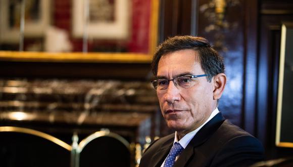 Martín Vizcarra anunció que participará en los próximos comicios al Congreso. (Foto: Demetrius Freeman/Bloomberg)