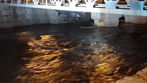 Más de 100 hectáreas de cultivo resultaron afectadas por desborde del río Ica. (Foto: Gore Ica)