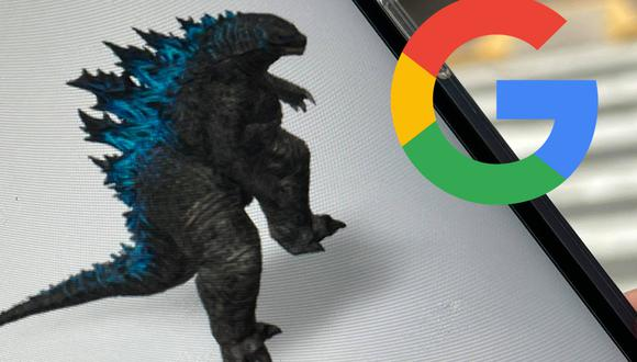 Conoce el truco para poder activar a Godzilla en 3D con Google. (Foto: MAG)