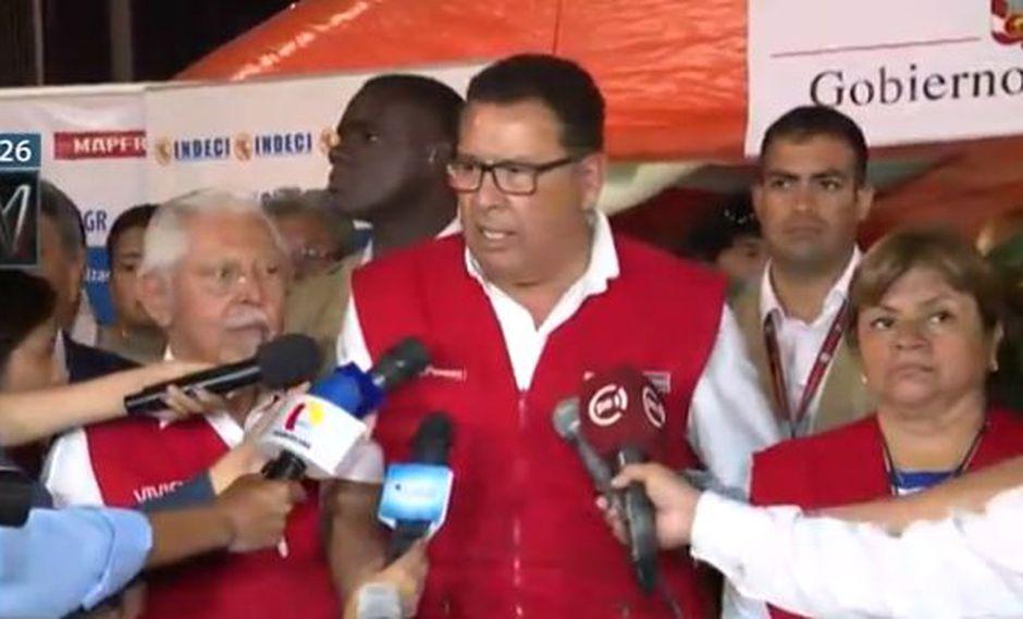 Ministro de Defensa, José Huertas.(Foto: Canal N)