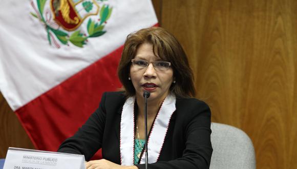La fiscal especializada en lavado de activos Marita Barreto informó hoy que el Caso Orellana ya está en la etapa final. (Foto: Archivo El Comercio)
