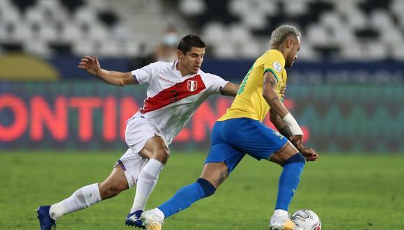 Neymar dio la asistencia para el gol brasileño. (Foto: Jesús Saucedo / GEC)