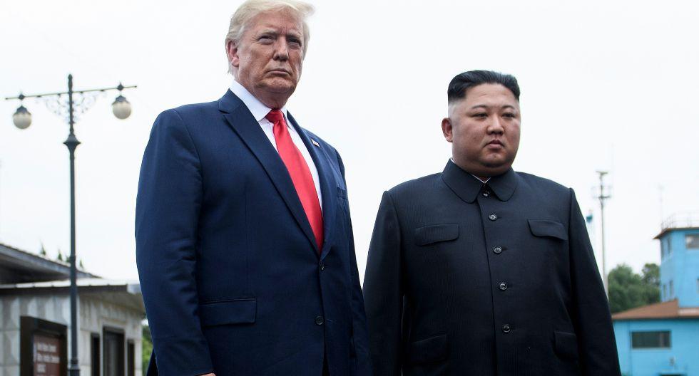"""Ante las provocaciones de Corea del Norte, el mandatario estadounidense ha usado la misma estrategia: elogios para Kim, al que hoy calificó de """"listo"""", y poner en valor la relación entre ambos. (Foto: AFP)"""