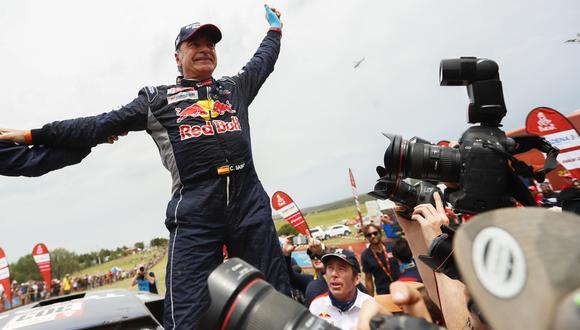 Dakar 2018: ¿Con cuántas etapas ganadas triunfó Carlos Sainz? (Foto: AFP)