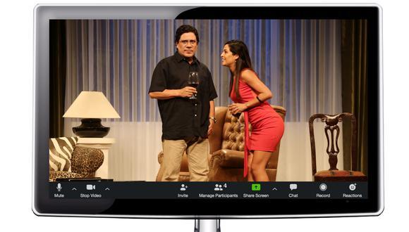 Las plataformas virtuales han reemplazo, momentáneamente, a las salas de teatro. (Ilustración: El Comercio)