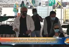 Enrique Guzmán recibió la segunda dosis de la vacuna en medio del escándalo por Frida Sofía