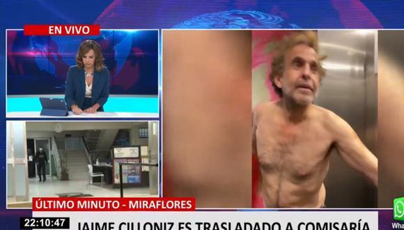 Jaime Cillóniz es acusado de protagonizar constantes episodios de violencia. (24 Horas)