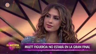 El Artista del Año: Milett Figueroa queda fuera de la competencia
