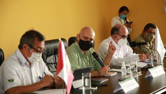 Gabriel Quijandría estaba participando en actividades en Madre de Dios desde el jueves. (Foto: Ministerio del Ambiente)