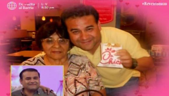 Juan Carlos Orderique se quebró al recordar a fallecida madre