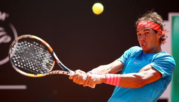 Rafael Nadal no tuvo problemas para avanzar en Masters de Roma