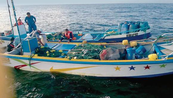 En lo que va del año la Marina capturó 26 naves de pesca ilegal