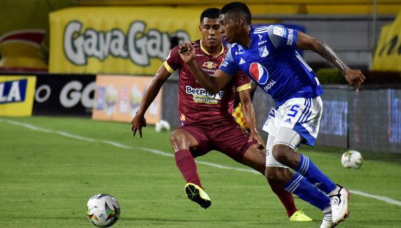 Millonarios vs. Tolima se enfrentan en la final de la Liga BetPlay 2021 | Foto: @Dimayor