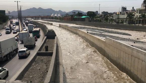 Río Rímac se mantiene estable tras varios días de desbordes