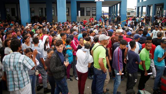 El 67% de limeños considera negativa la migración venezolana según una encuesta de Ipsos-El Comercio publicada en abril. Esto ya ha servido de excusa para discursos xenófobos. (Reuters)