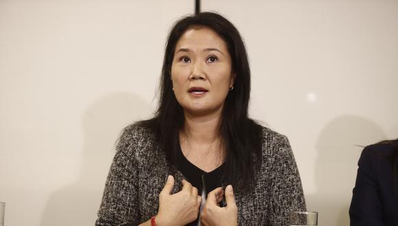 """""""Es fundamental que las elecciones se lleven con normalidad, sin exclusiones arbitrarias ni pedidos desproporcionados contra los partidos políticos"""", afirmó Keiko Fujimori (Foto: GEC)"""