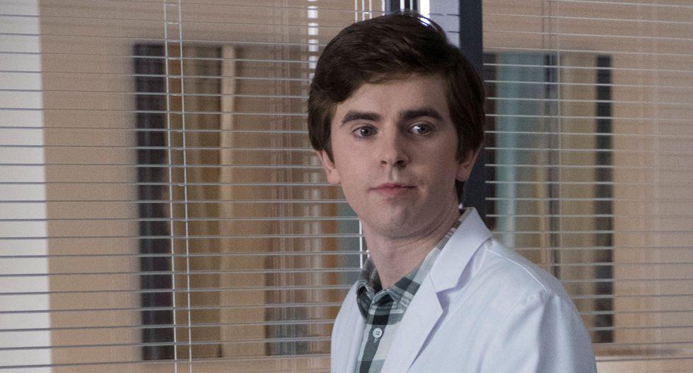 """Shaun tuvo que enfrentarse a su familia en el final de mitad de temporada de """"The Good Doctor"""". Foto: ABC"""