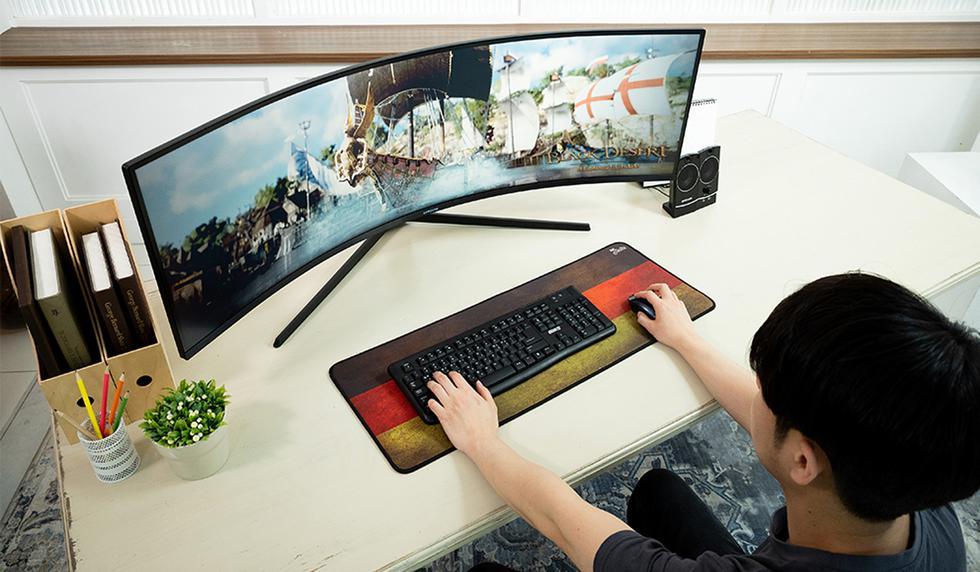 Samsung lanza un monitor curvo para videojuegos. Descubre todas su características. (Foto: Samsung)