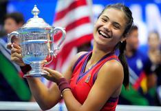 Emma Raducanu: la tenista de 18 años que ganó el US Open y  consiguió un importante premio económico