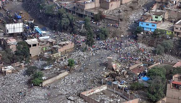 Huaicos y lluvias han afectado a casi 25 mil solo en Lima