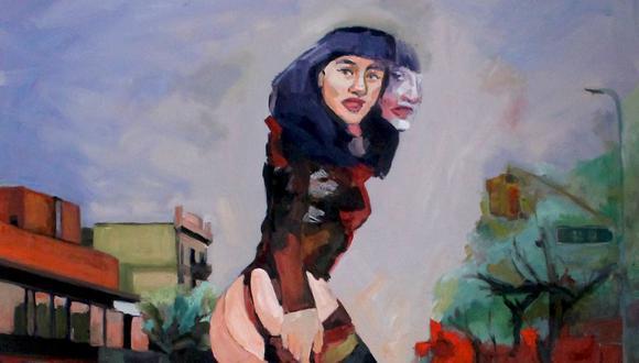 """""""Jackson Heights I"""" (2020) de Ana Masías de Tola es una de las obras de arte presentadas en Galería José Antonio. (Fuente: Ana Masías)"""