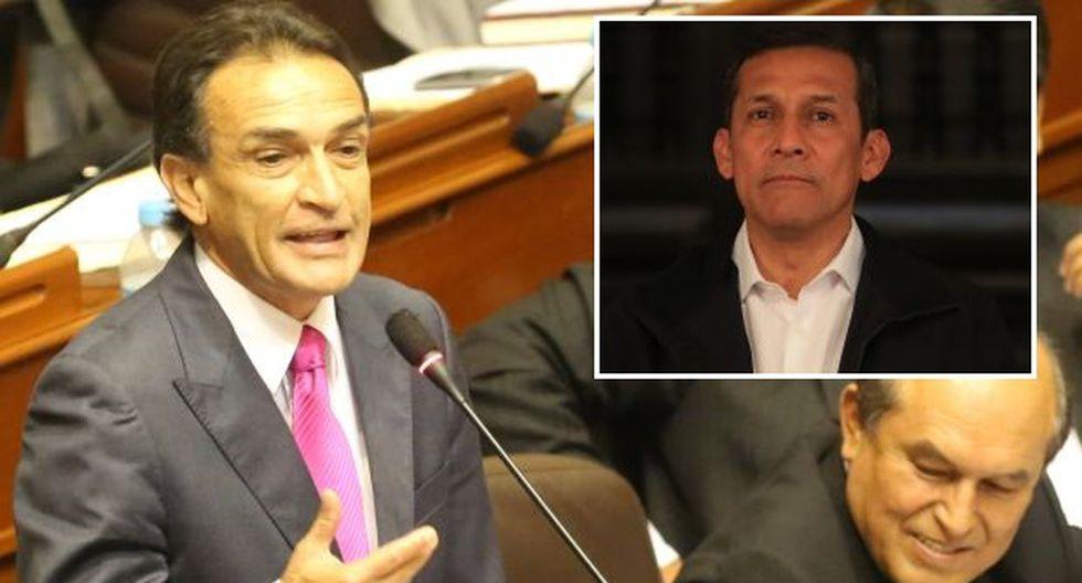 Fujimoristas discrepan con pedido para vacar a Ollanta Humala