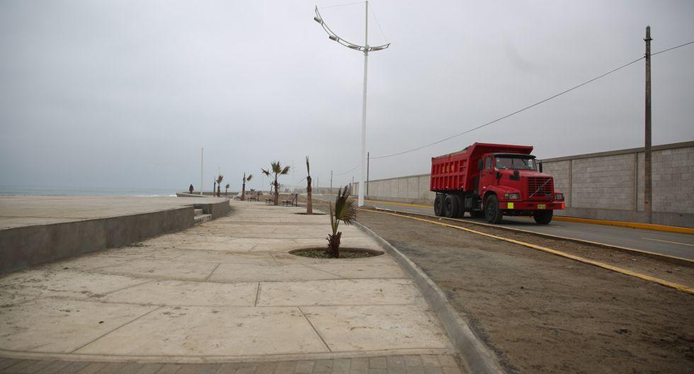 Fotos: los daños que sufrió la Costa Verde Sur - 6