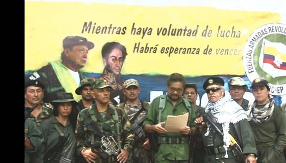 """FARC retomará la lucha armada en Colombia, anuncia disidente """"Iván Márquez"""". Foto: Captura de video"""