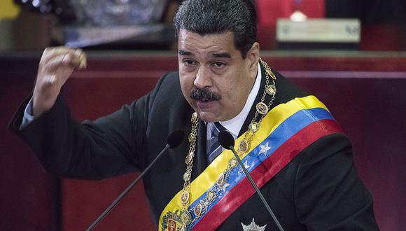 """El presidente de Venezuela, Nicolás Maduro, aún no responde al Perú por declararlo """"no bienvenido"""" a la Cumbre de las Américas, que se realizará en Lima en abril. (Foto: Bloomberg)"""