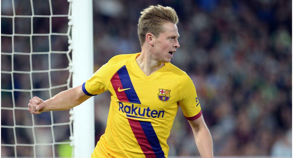 Edad 22: Frenkie de Jong juega en FC Barcelona y está valorizado en 97 millones de dólares (Foto AFP)