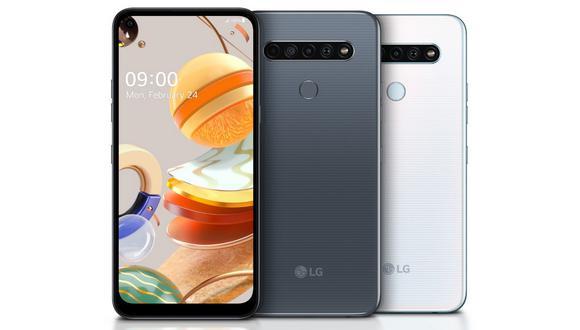 Serie LG K 2020. (Foto: Difusión)