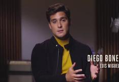 Diego Boneta habla sobre la muerte de Marcela Basteri y el reencuentro con Michelle
