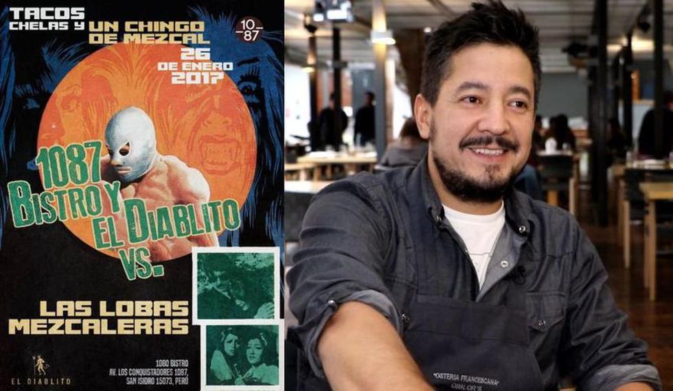 Emilio Macías empieza el 2017 con novedades para su proyecto El Diablito. Conoce las fechas y los restaurantes donde lo encontrarás con su propuesta mexicana entrelazada con productos peruanos. (Imagen: El Diablito/El Comercio)