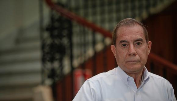 """""""Somos totalmente conscientes de que el sistema nacional de pensiones necesita una reforma integral"""", dice el primer ministro Walter Martos en entrevista con El Comercio. (Foto: Hugo Pérez / GEC)"""