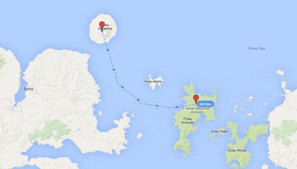 Indonesia: Naufragio deja al menos 15 desaparecidos