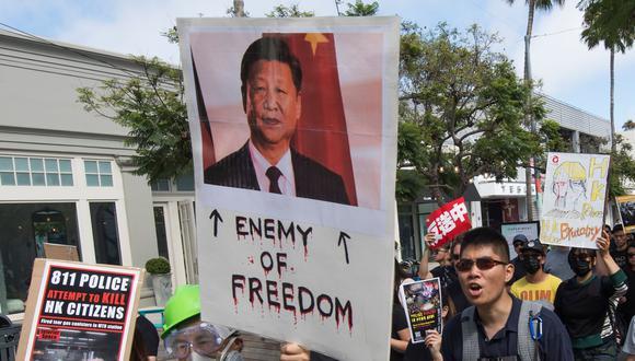 Twitter suspendió más de 200.000 cuentas que sospecha forman parte de una campaña del gobierno de China para influenciar el movimiento de protesta de Hong Kong. (AFP)