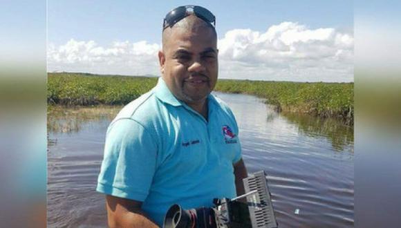 El periodista nicaragüense Miguel Ángel Gahona. (Foto: Captura)